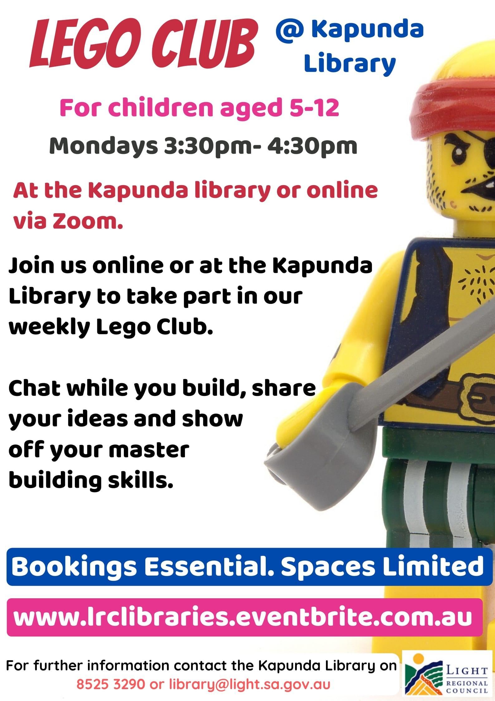 Term 3 2020 Lego @ Kapunda