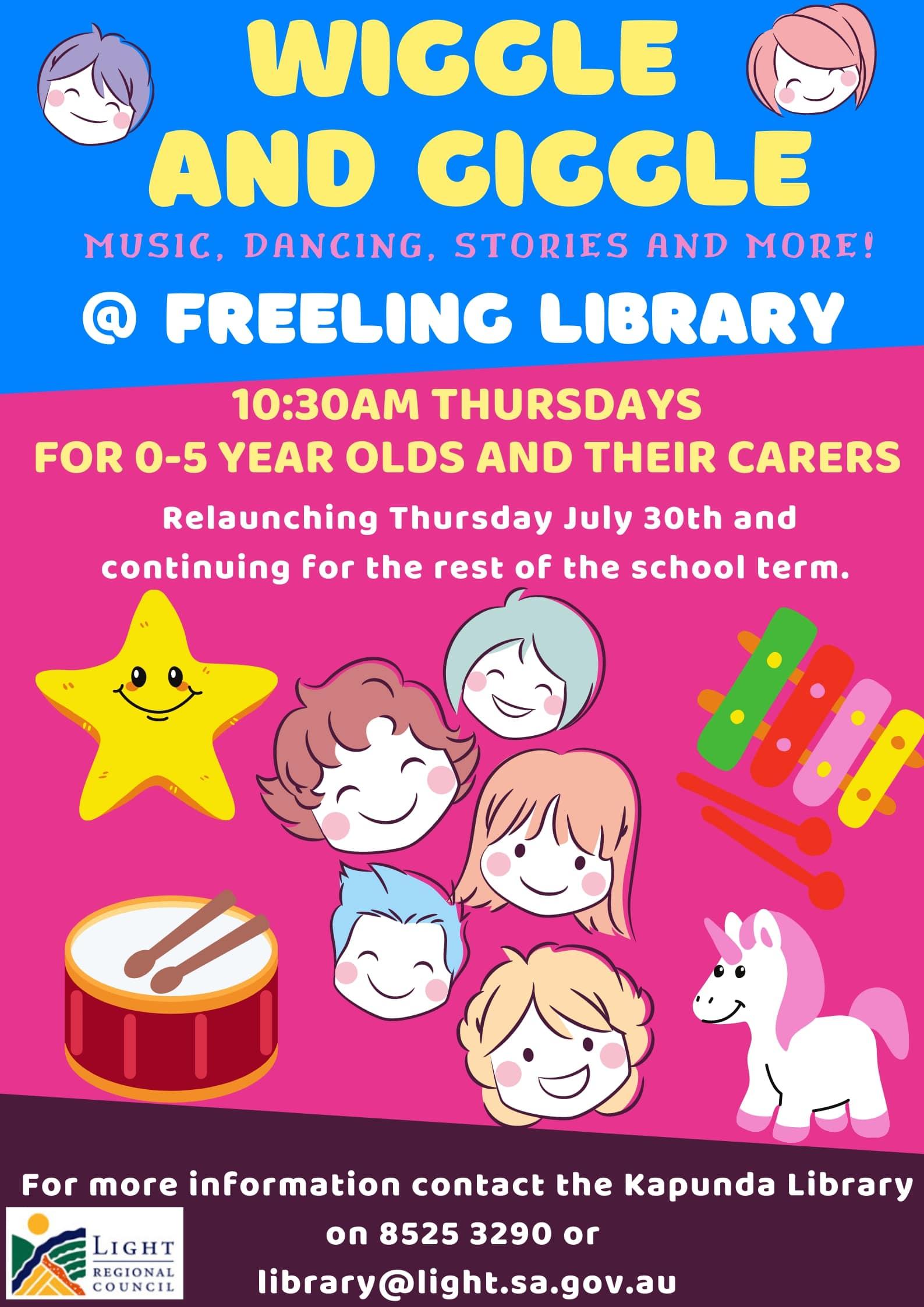 Wiggle & Giggle @ Freeling Library