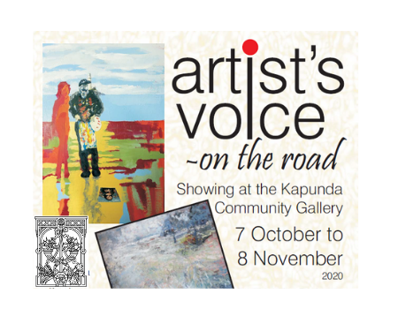Artist's Voice on the road - showing at the Kapunda Community Gallery